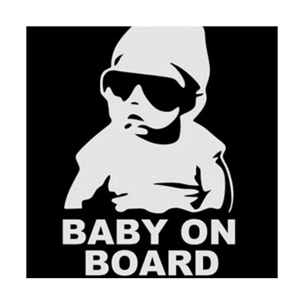 Aufkleber Baby on Board