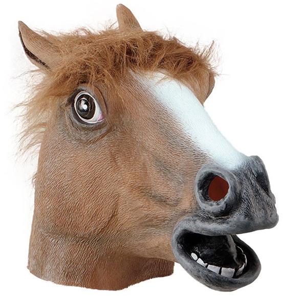 Pferdekopf Maske