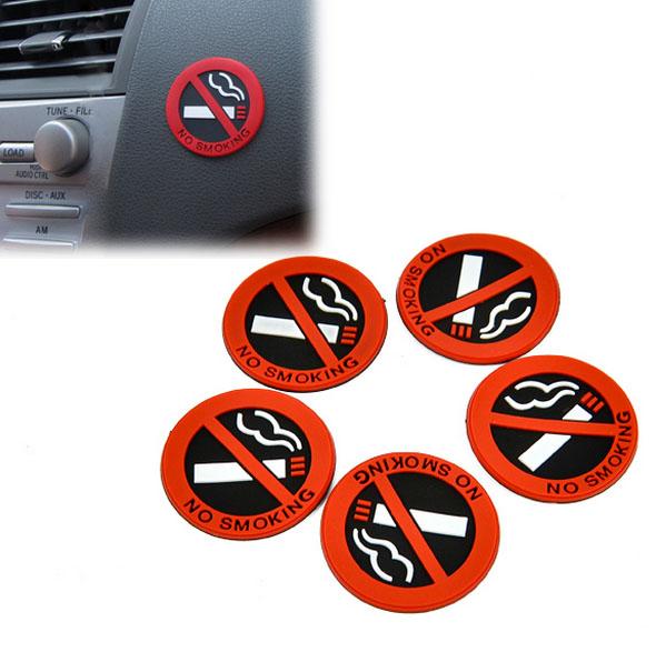 Rauchverbot KFZ Sticker