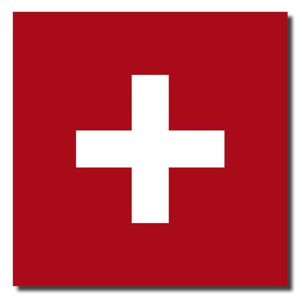 Aufkleber Schweiz