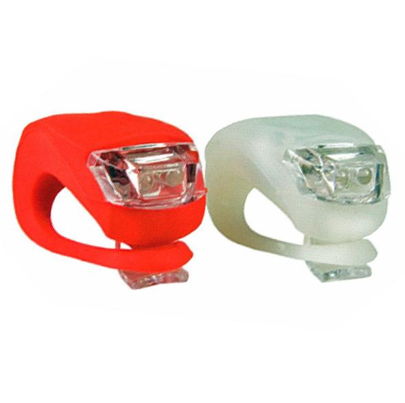 LED Fahrradlampe Set