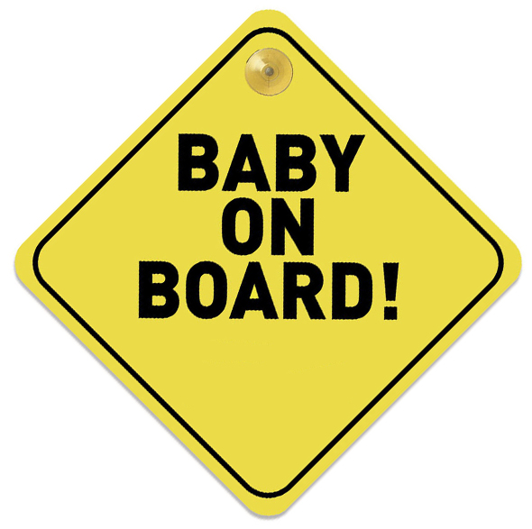 Baby on Board Schild