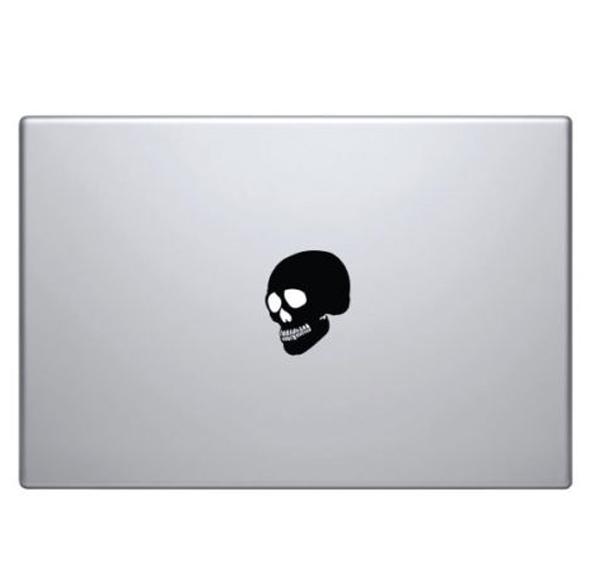 Macbook Aufkleber «Totenkopf»