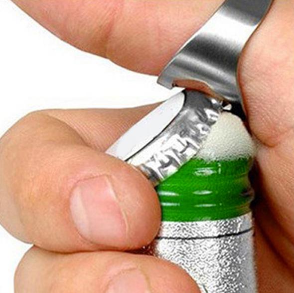 Flaschenöffner Fingerring