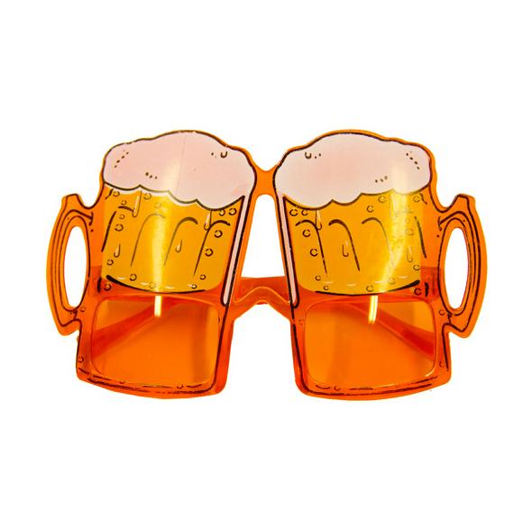 Partybrille Bierkrug