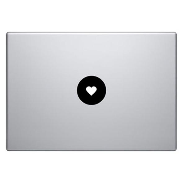 Macbook Sticker «Herz»