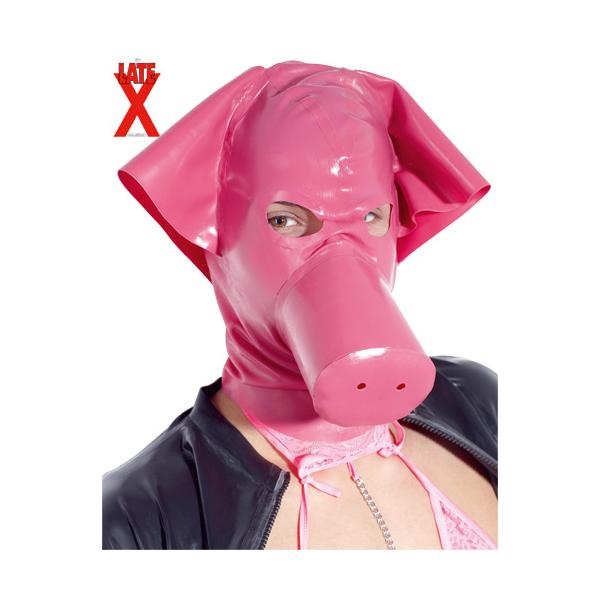 Latex-Maske Schwein