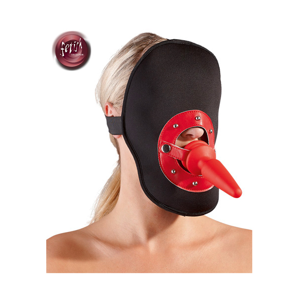 Kopfmaske mit Analplug