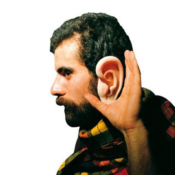 Grosse Ohren aus Latex
