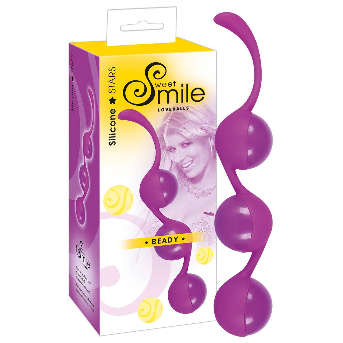 Sweet Smile Tri Ball Smile Silicone Stars