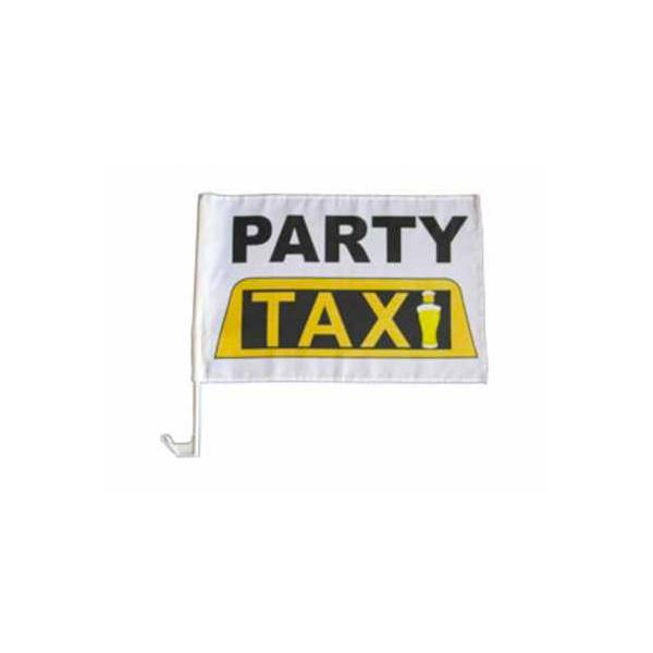 Autofahne Party Taxi