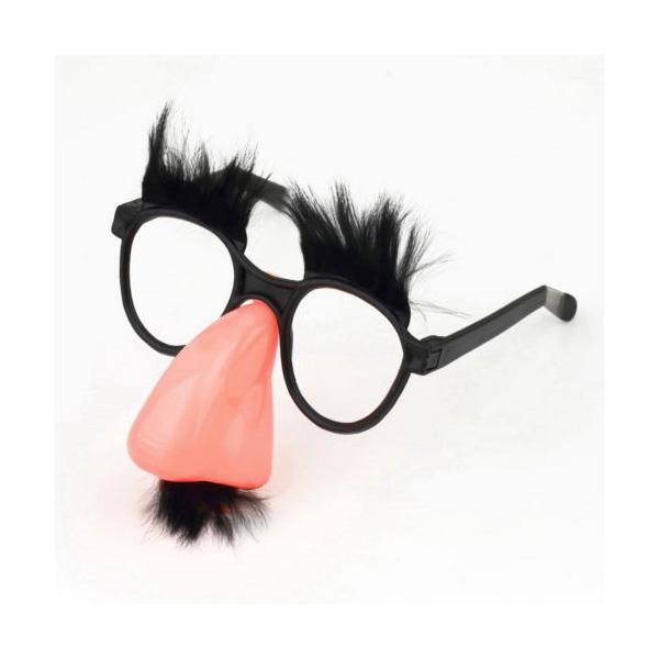 Funbrille Mustache
