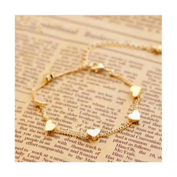 Armkette Herz Gold