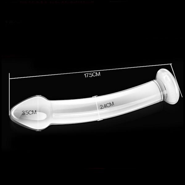 Glasdildo Penis
