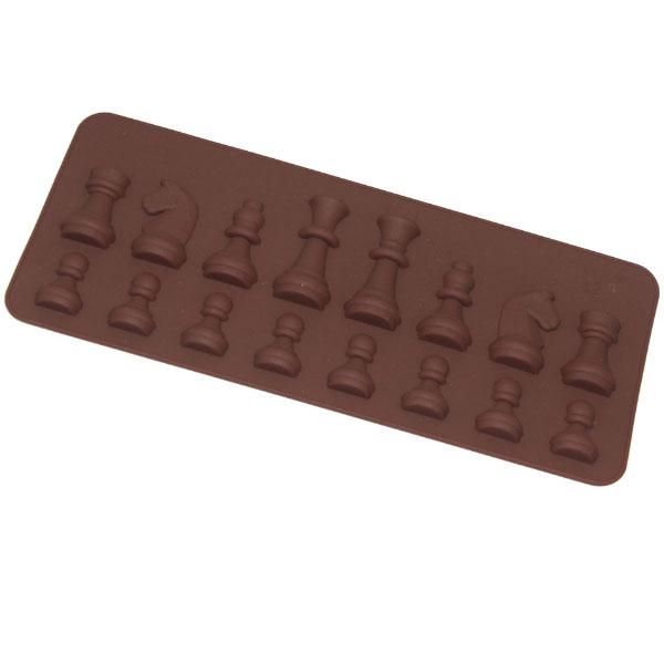Eiswürfelform Schachfiguren