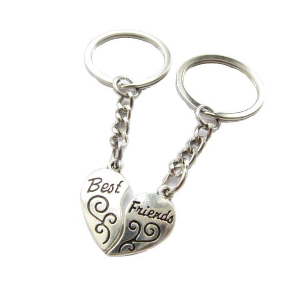 Schlüsselanhänger Herz Best Friends