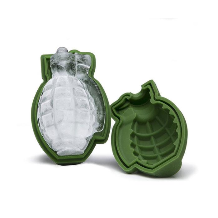 Eiswürfelform Handgranate