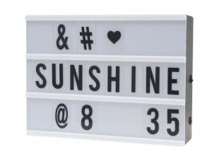 LED Message Letter Box