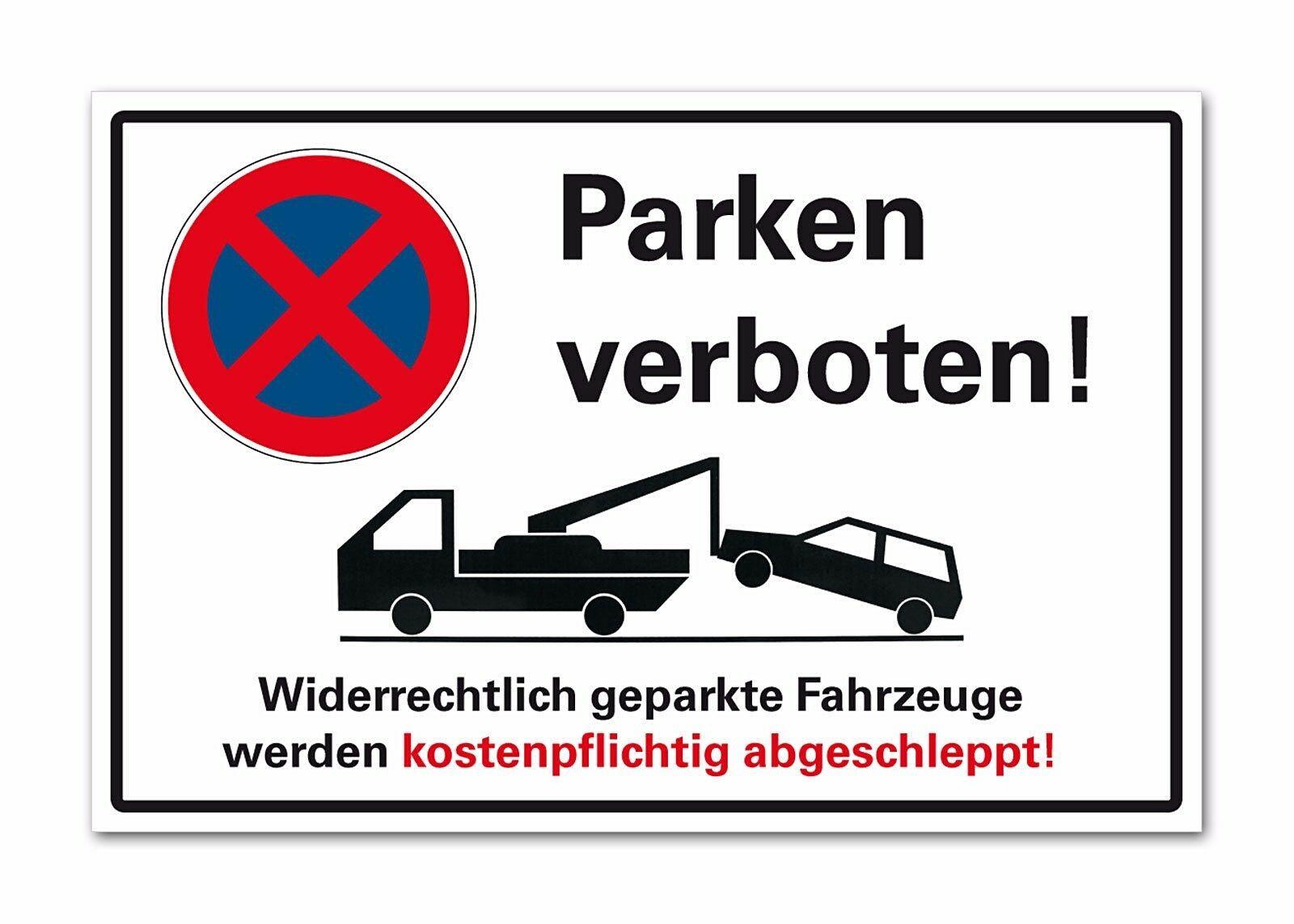 Halteverbot Schild Parken verboten