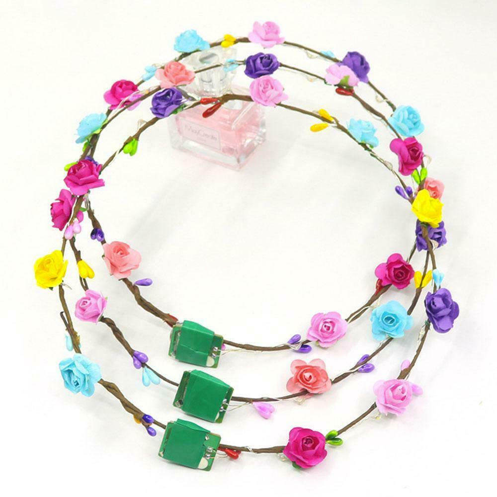 LED Blumen Haarband