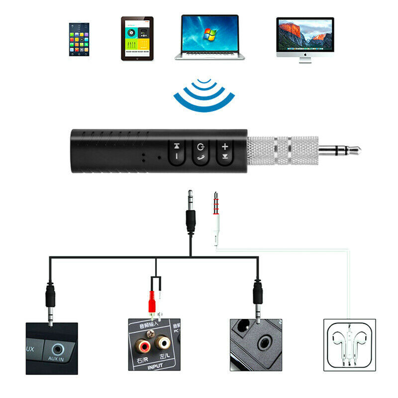 Bluetooth Transmitter Aux 3.5mm Adapter